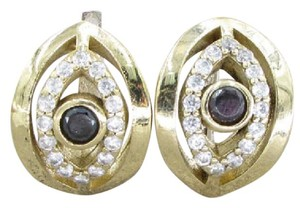 Other SAPPHIRE & TOPAZ EYE EARRINGS