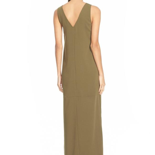 Dark Olive Maxi Dress by Leith