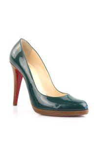 Christian Louboutin Green Playful Green Pumps