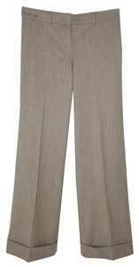 Chloé Wool Full Leg Cuffed Pants