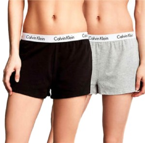 Calvin Klein Black/Gray Shorts