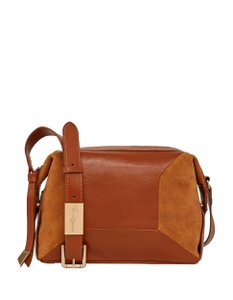 Foley + Corinna Leather Suede Small Cross Body Bag