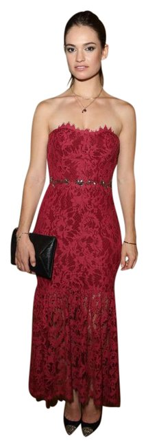 Preload https://item3.tradesy.com/images/marchesa-notte-burgundy-lace-gown-long-formal-dress-size-8-m-20618202-0-3.jpg?width=400&height=650