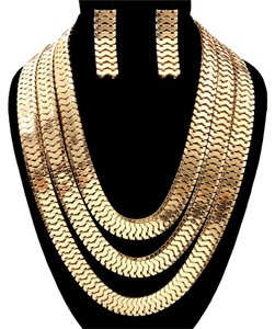 Other Chain Layered Necklace Set