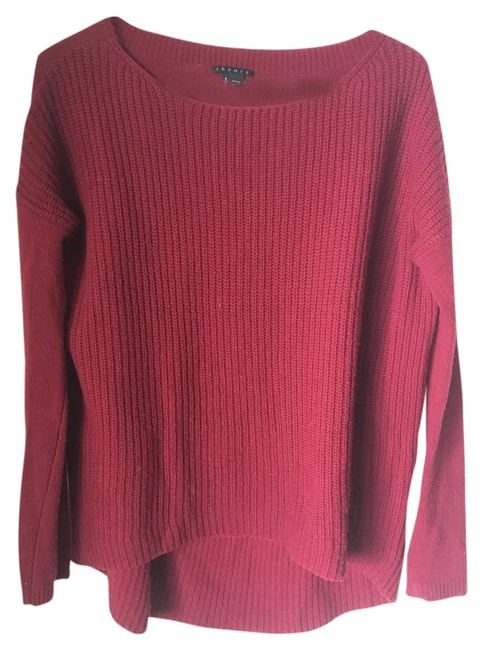 Preload https://item2.tradesy.com/images/theory-red-sweaterpullover-size-6-s-20618251-0-1.jpg?width=400&height=650
