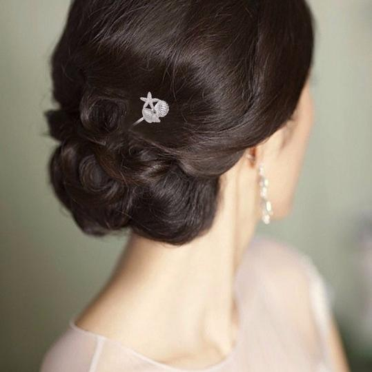 Other Silver Shell Hair Pins