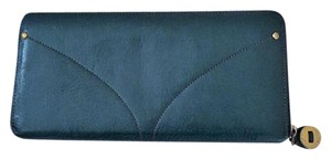 Cole Haan Leather Forest Green Clutch