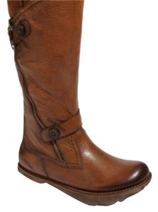 Kalso Earth Prance Leather Boot Almond Tumble Vintage Boots