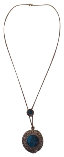 Preload https://img-static.tradesy.com/item/20618470/blue-1960s-slide-great-collector-piece-necklace-0-1-540-540.jpg