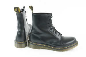 Dr. Martens Ankle Lace Up Leather Black Boots