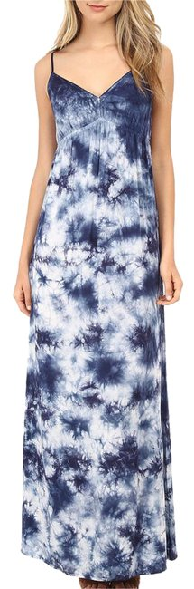 Preload https://item3.tradesy.com/images/c-and-c-california-navy-white-tie-dye-crystal-wash-long-casual-maxi-dress-size-4-s-20618482-0-1.jpg?width=400&height=650