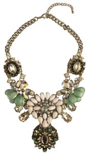 H&M H&M Silver&Mint statement necklace