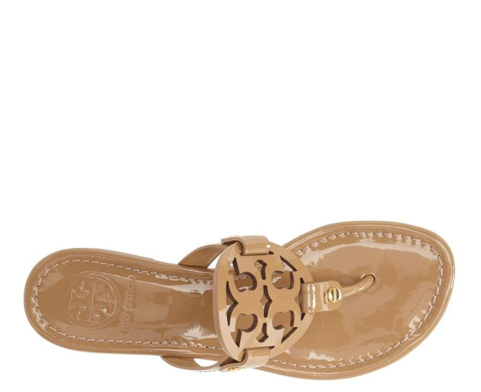 709542735b54 Tory Burch Sand Patent  miller  Flip Flop Leather M Sandals. Size  US 11 ...