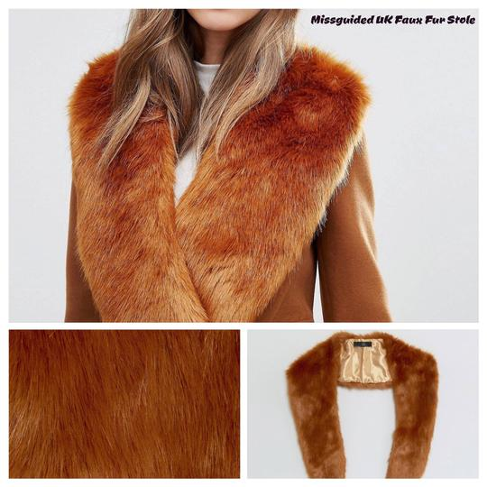 Preload https://img-static.tradesy.com/item/20619015/missguided-toffee-faux-fur-stolescarf-scarfwrap-0-0-540-540.jpg