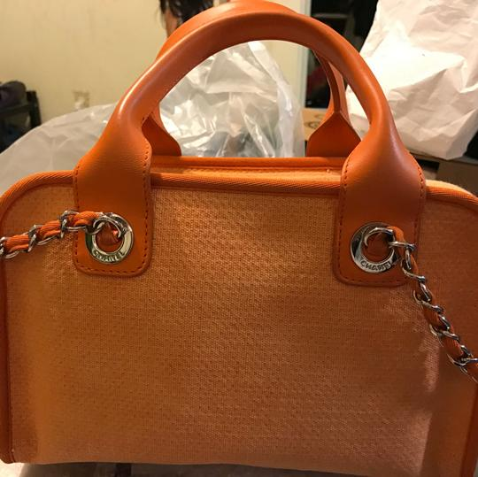 Chanel Satchel in orange