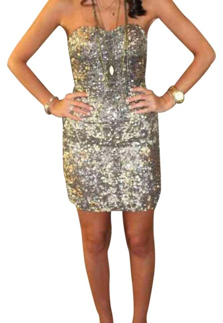 Preload https://img-static.tradesy.com/item/20619191/scala-strapless-sequins-short-formal-dress-size-0-xs-0-1-650-650.jpg