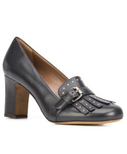 Tabitha Simmons Navy Pumps
