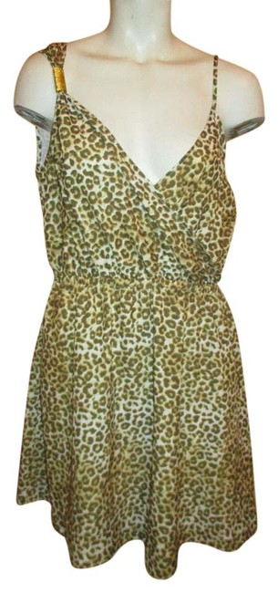 Preload https://img-static.tradesy.com/item/20619227/kardashian-kollection-brown-tan-and-white-leopard-print-2013-short-casual-dress-size-12-l-0-1-650-650.jpg