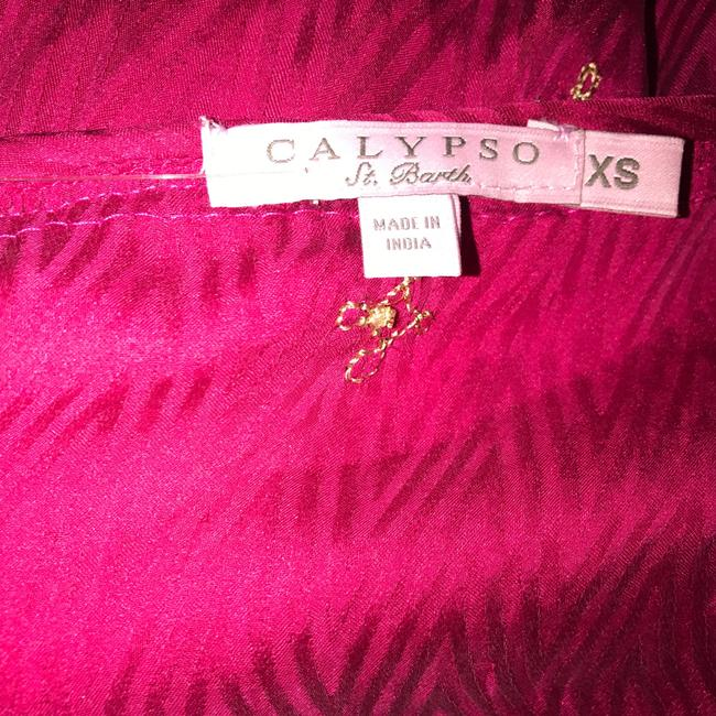 Calypso St. Barth Free Shipping Size Xs Nwot Fioretta Top Janeiro Pink