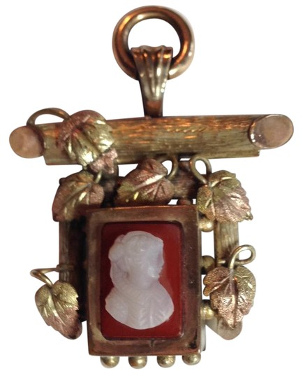 Preload https://item5.tradesy.com/images/yellow-and-pink-gold-ivory-and-brown-cameo-rare-stone-20619409-0-1.jpg?width=440&height=440