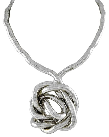 Preload https://img-static.tradesy.com/item/20619421/silver-tone-long-gooseneck-necklace-0-1-540-540.jpg