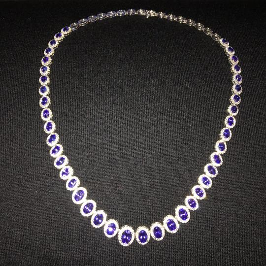 Other Tanzanite Cocktail necklace