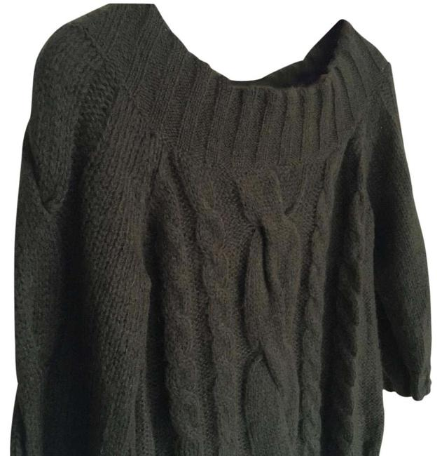 Preload https://img-static.tradesy.com/item/20619425/anne-klein-deep-green-cable-knit-sweaterpullover-size-8-m-0-1-650-650.jpg