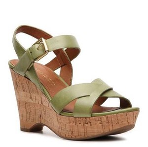 Franco Sarto Kiwi green Wedges