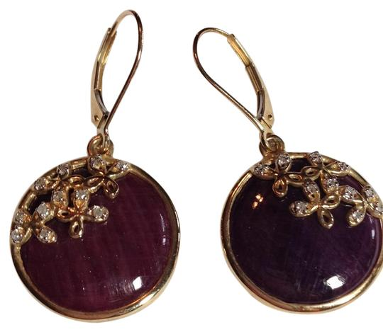 Preload https://item5.tradesy.com/images/yellow-gold-red-rubies-and-earrings-20619479-0-1.jpg?width=440&height=440