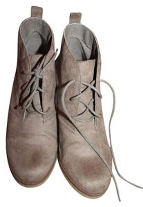 American Eagle Outfitters Lace Up taupe Boots