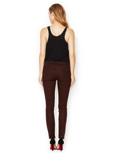 BlankNYC Coated Low Rise Skinny Jeans-Coated