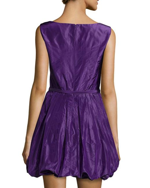 Oscar de la Renta Bubble Pleated Dress