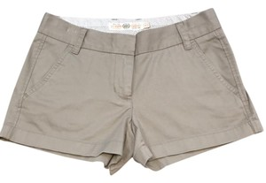 J.Crew Mini/Short Shorts dark khaki