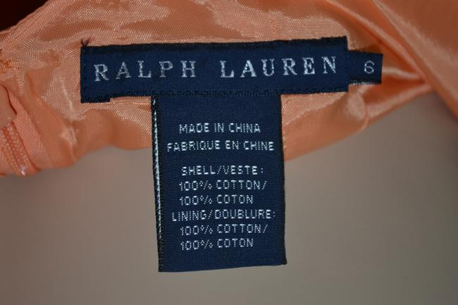 Ralph Lauren Blue Label short dress Orange on Tradesy