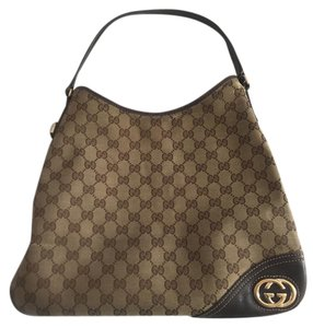 Gucci Tote Classic Leather Shoulder Bag
