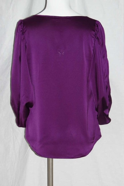 Rose & Olive Top Purple