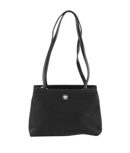 Versace Gianni Tote in Black