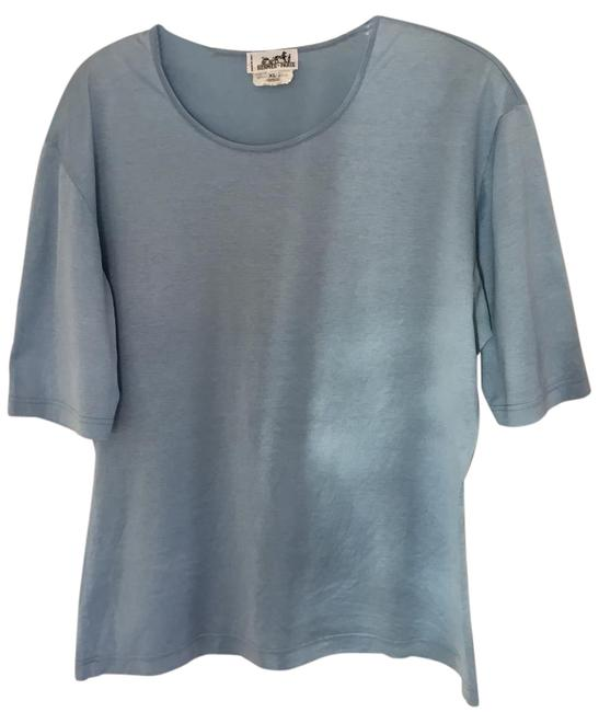Preload https://item5.tradesy.com/images/hermes-blue-tee-shirt-size-12-l-20619869-0-2.jpg?width=400&height=650
