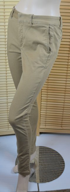 Ralph Lauren Brooke Skinny Pants Tan