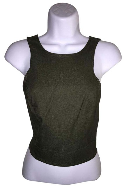 Preload https://item4.tradesy.com/images/charlotte-russe-olive-green-night-out-top-size-12-l-20620093-0-1.jpg?width=400&height=650