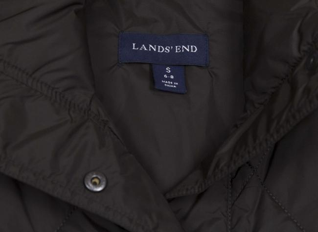 Lands' End Down Jacket Quilted Vest