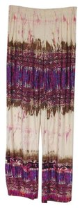 Other Casual Print Relaxed Pants Multi-Color