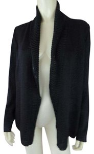 St. John Santana Knit Wrap Open Front Sparkle New Sweater