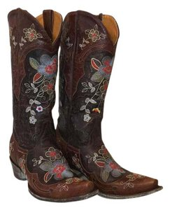 Old Gringo chocolate brown/brass Boots
