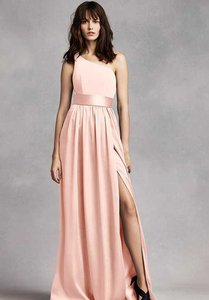 915934a4ed72 Vera Pink Blush Satin Vw360215 Formal Bridesmaid Mob Dress Size