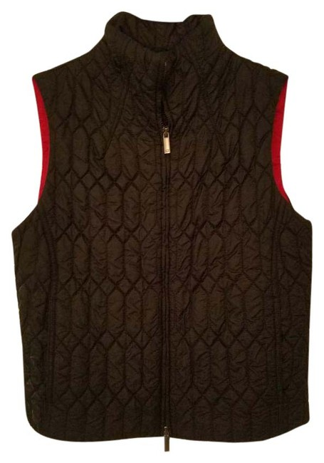 Preload https://item1.tradesy.com/images/ax-armani-exchange-black-red-nylon-quilted-vest-size-2-xs-20620210-0-1.jpg?width=400&height=650