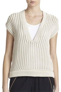 Brunello Cucinelli Runway Paris Beige Boxy Sweater