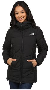 The North Face Parka Mid-length Hooded black Jacket