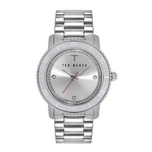 Ted Baker Ted Baker TE4103 Stainless Steel Watch w/ 3 Crystal Markers
