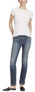Vince Straight Leg Jeans-Medium Wash